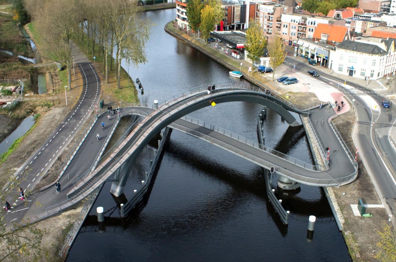 Melkweg cykelbro