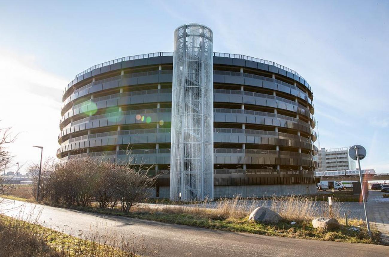 Tomme parkeringspladser i Ørestad