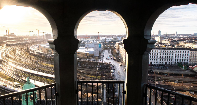centralpostbygningen udsigt tietgensgade
