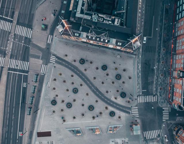 rådhuspladsen drone