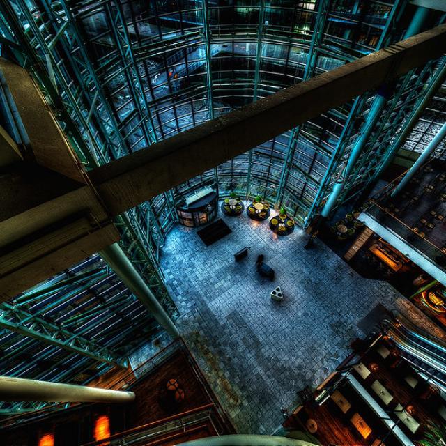 View inside Fisketorvet