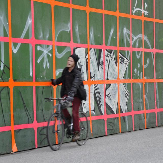 Byens Hegn, 'Grid' af Niels Erik Gjerdevik, Nuuks Plads