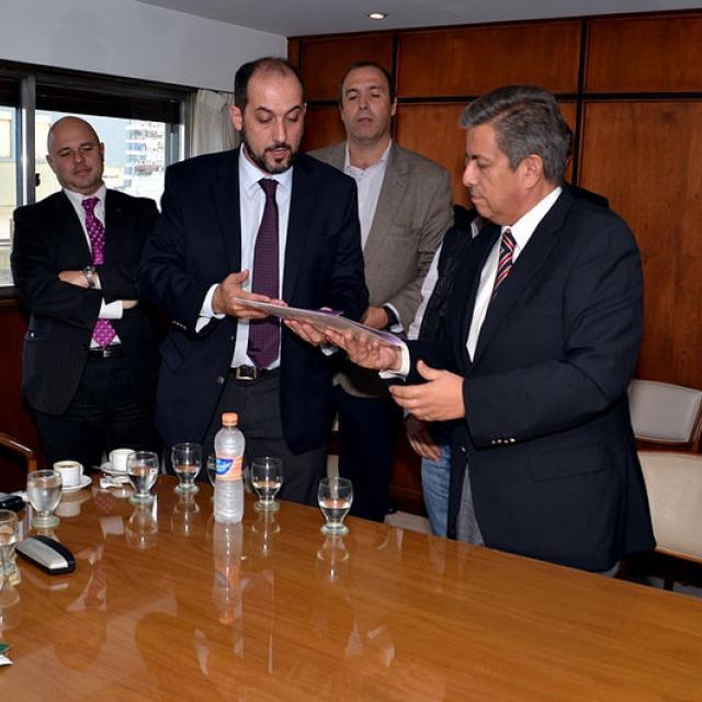 Acosta, Ministerio de Comercio en Río Cuarto