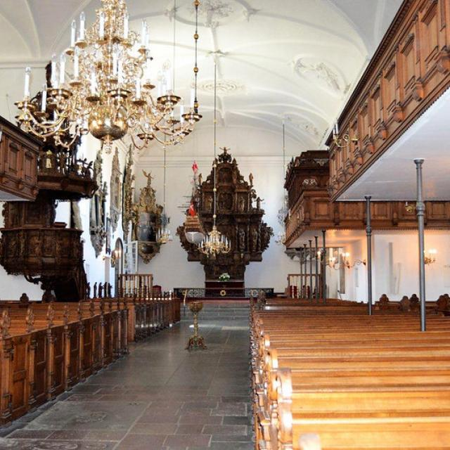 Holmens Kirke indefra - Foto Den Tyske Ambassade, KBH