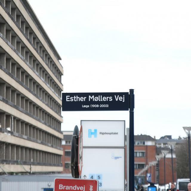 Ester Møllers Vej ved Rigshospitalet-4938