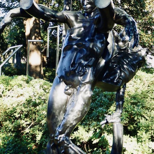 Gran Val de Grace, Sculpture by Jean-Robert Ipousteguy