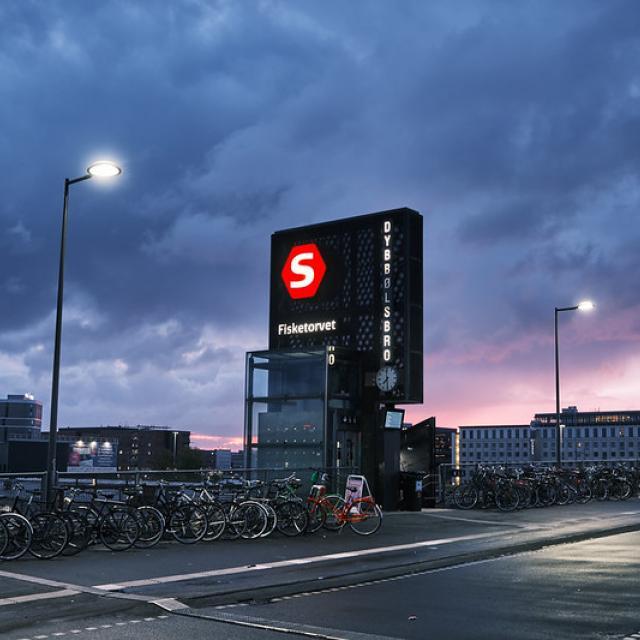Dybbølsbro Station, Copenhagen