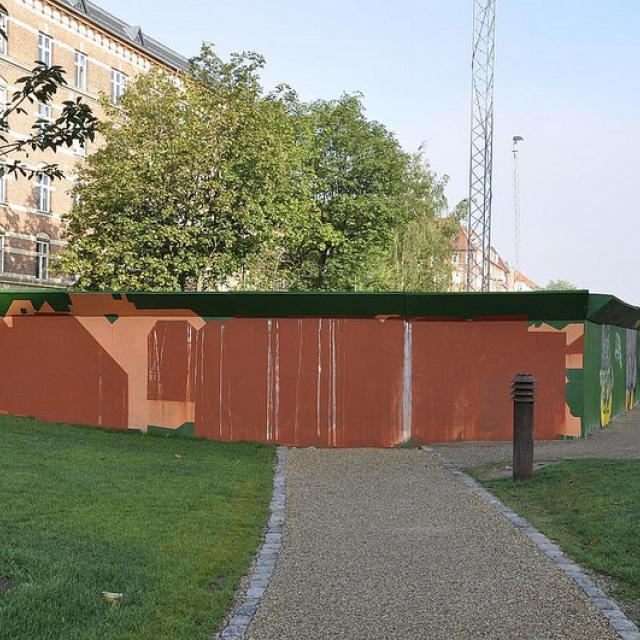 Byens Hegn, Nuuks Plads, Bureau Detours procesuelle værk, 2012