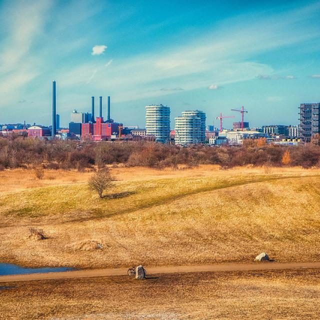 Look back in Amager