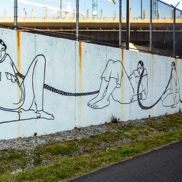 Social Distancing Mural