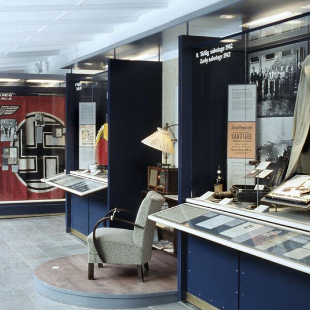 Frihedsmuseet udstilling - Foto Nationalmuseet