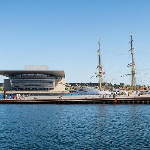 Ofelia Plads - Copenhagen Opera House