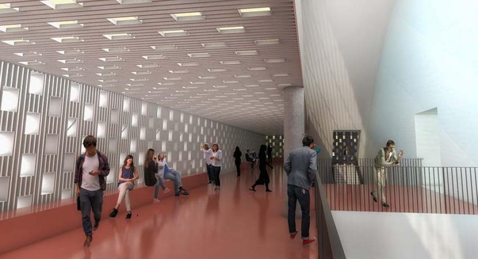 ny kb hal interiør publikumsområde