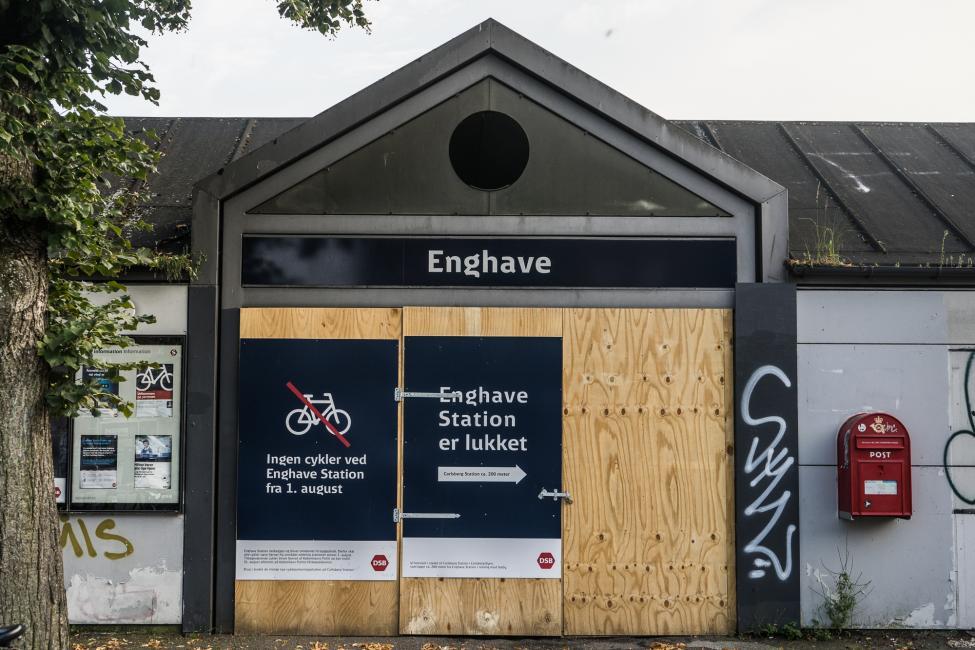 enghave station lukket
