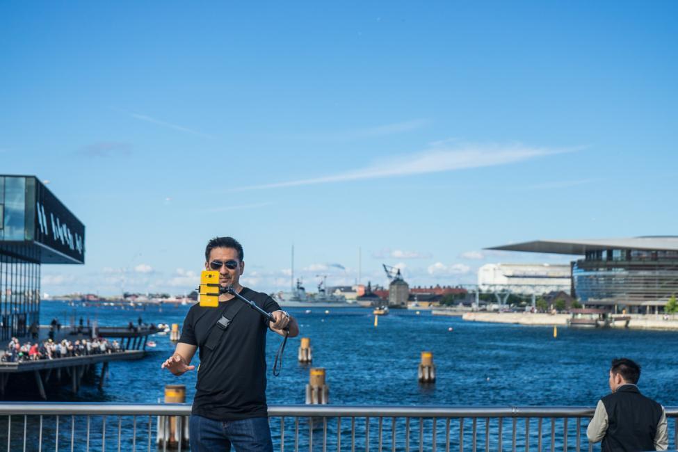 inderhavnsbroen selfiestang