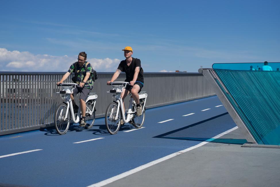 inderhavnsbroen bycykler