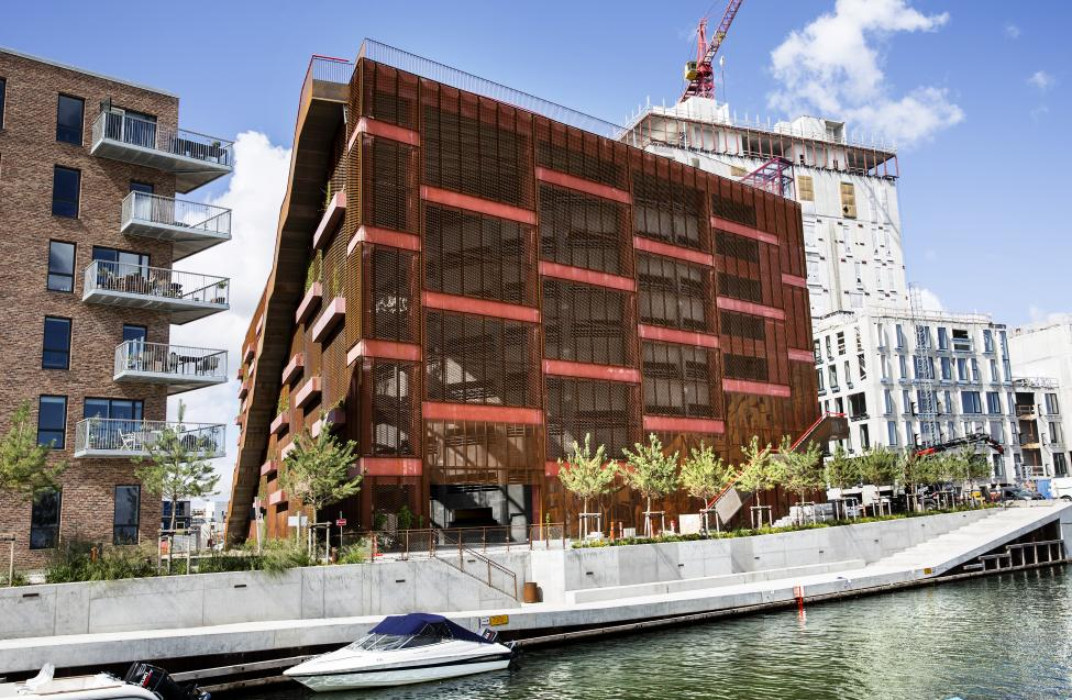 parkeringshus nordhavn jaja architechts