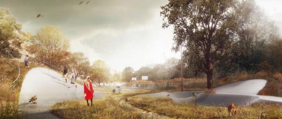 åparken omdannelse cowi tredje natur