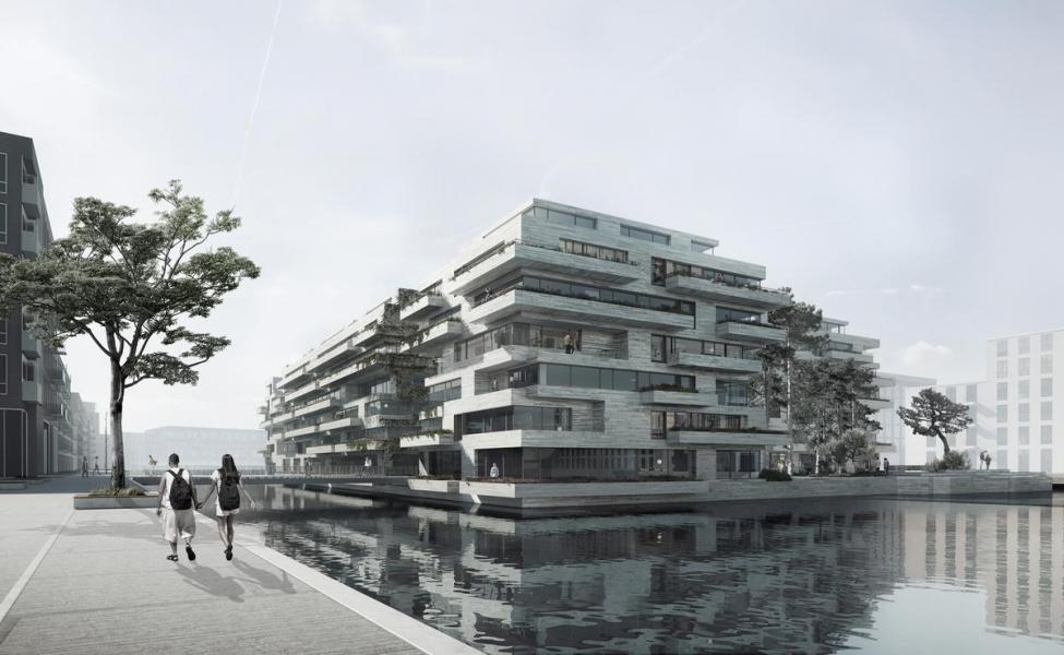kronløbsøen bolig parkeringsanlæg