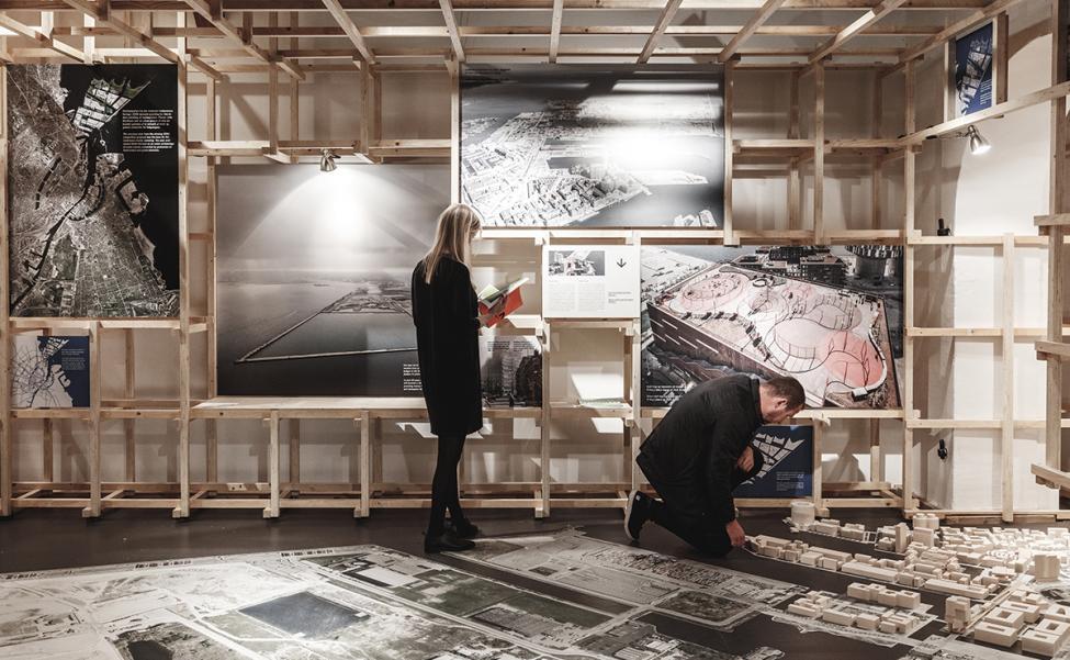 cobe udstilling dansk arkitekturcenter