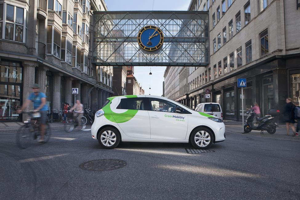 green mobility landemærket