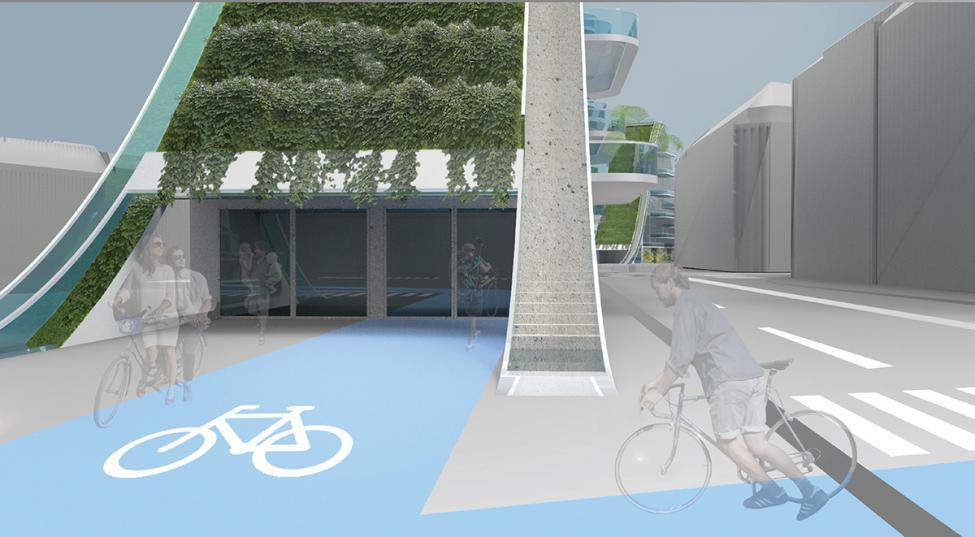 copenhagen slopes cykelarealer
