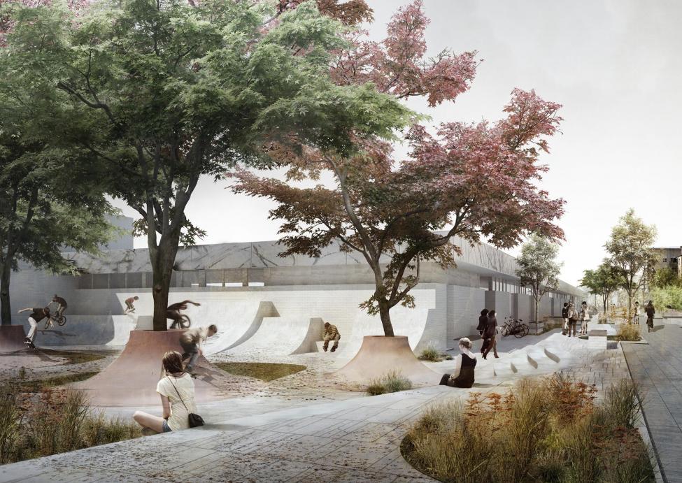 skatebane urbanplanen