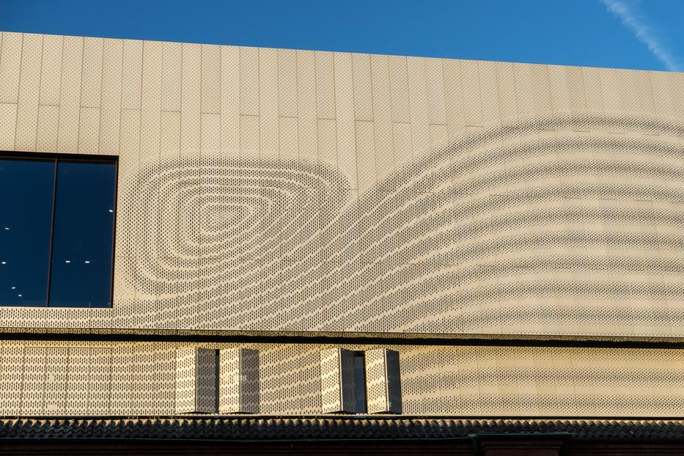 strøm facade experimentarium