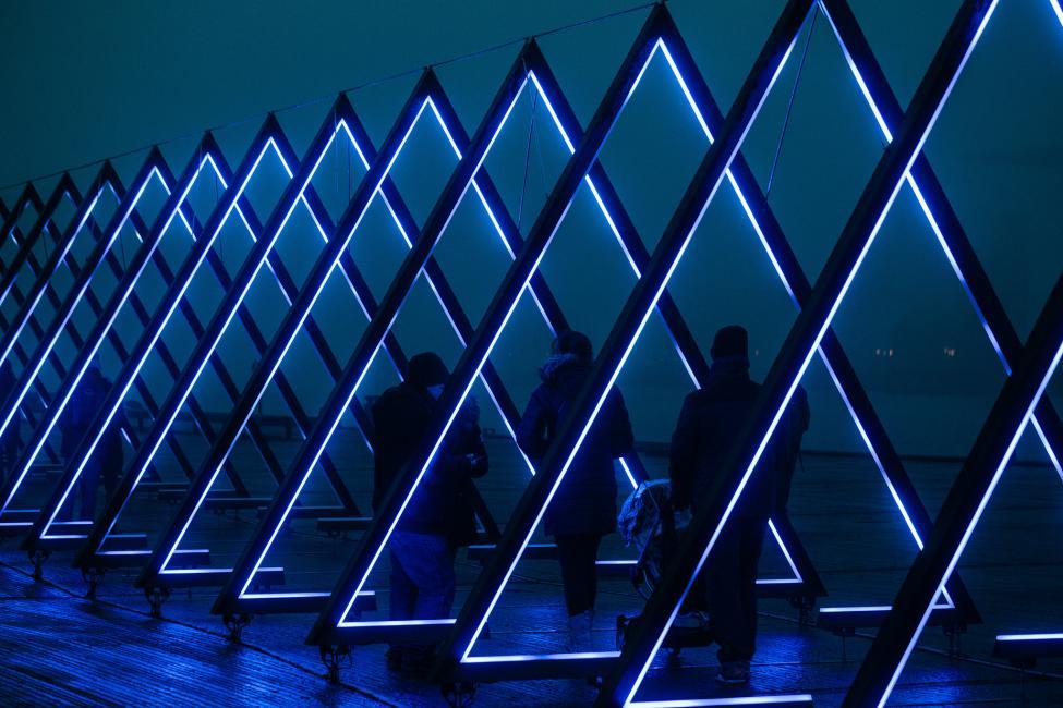 lysinstallation kvæsthusmolen