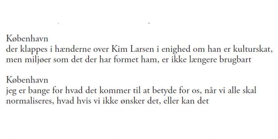 digt om københavn