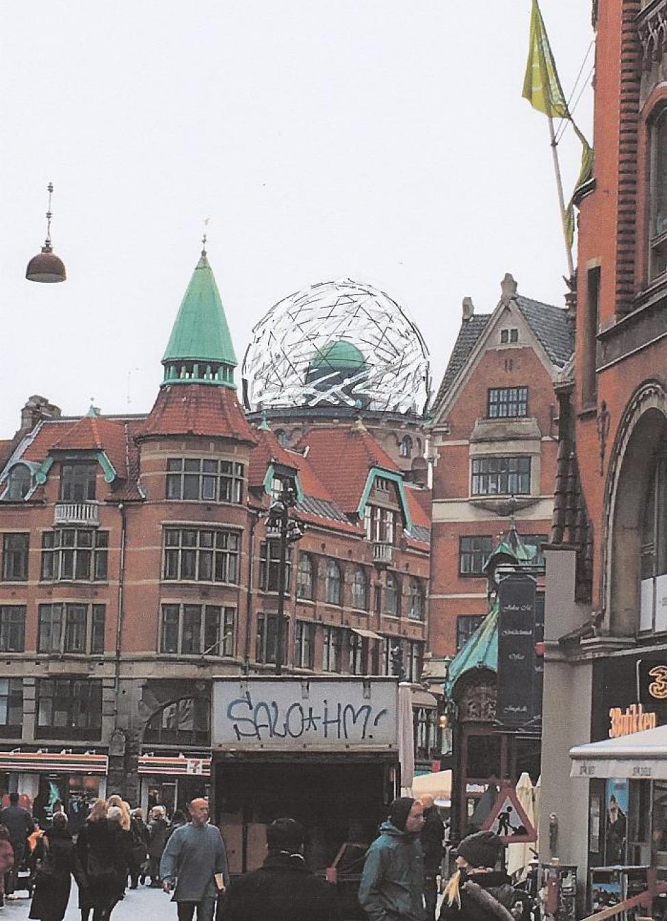rundetårn kuppel fra kultorvet