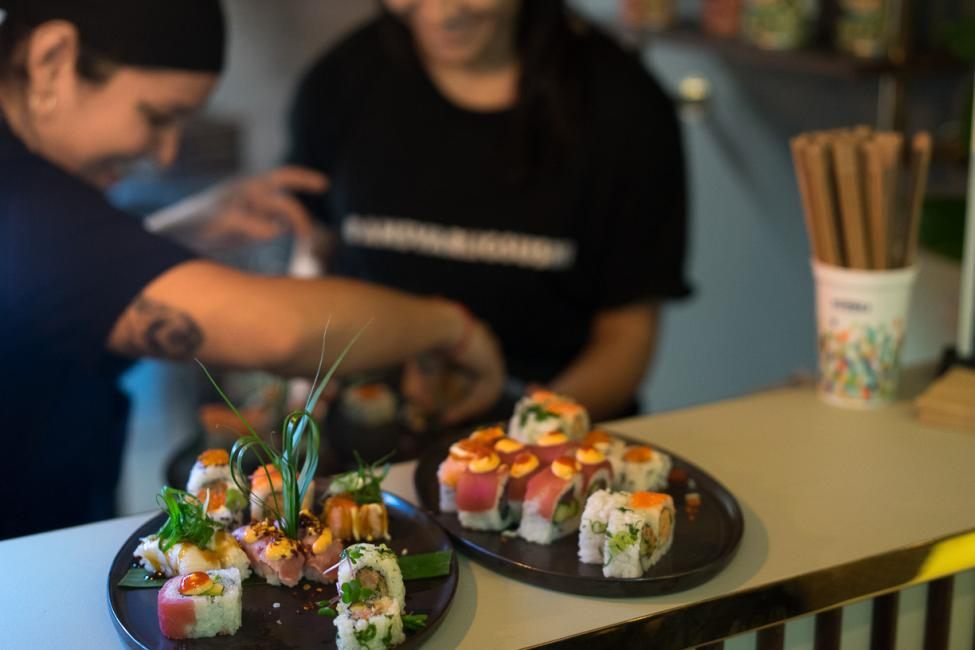 tivoli food hall lets sushi