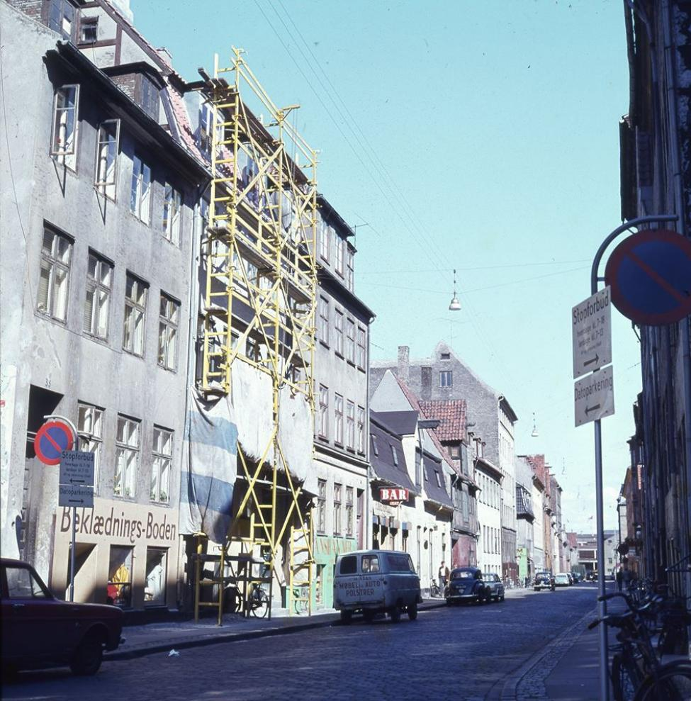 københavnsk stillads 1960erne