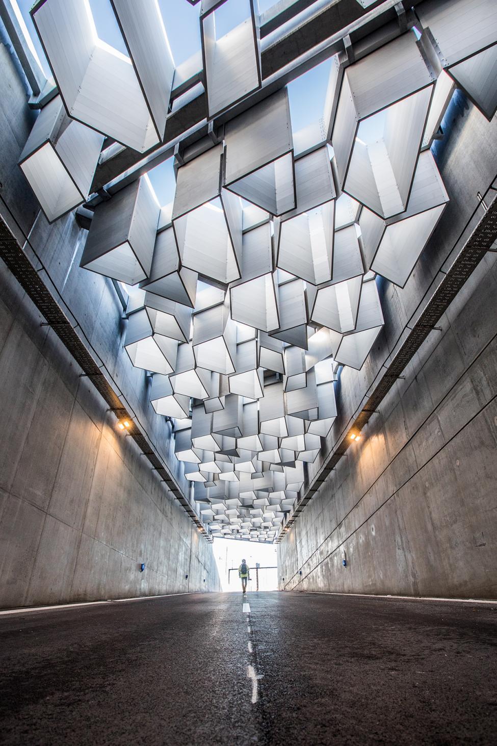 tunnel udkørsel nordhavnsvej