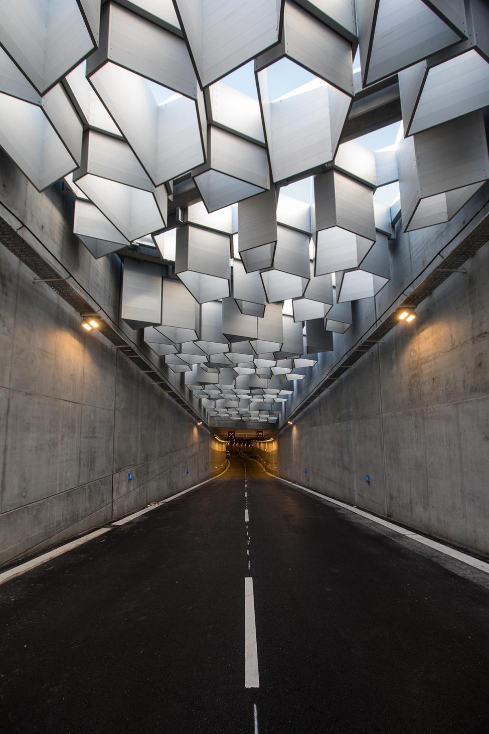 tunnel indkørsel nordhavnsvej