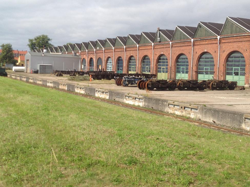 godsbaneterræn remiser