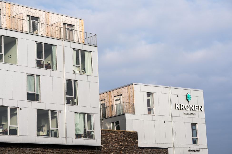 kronen boliger facade