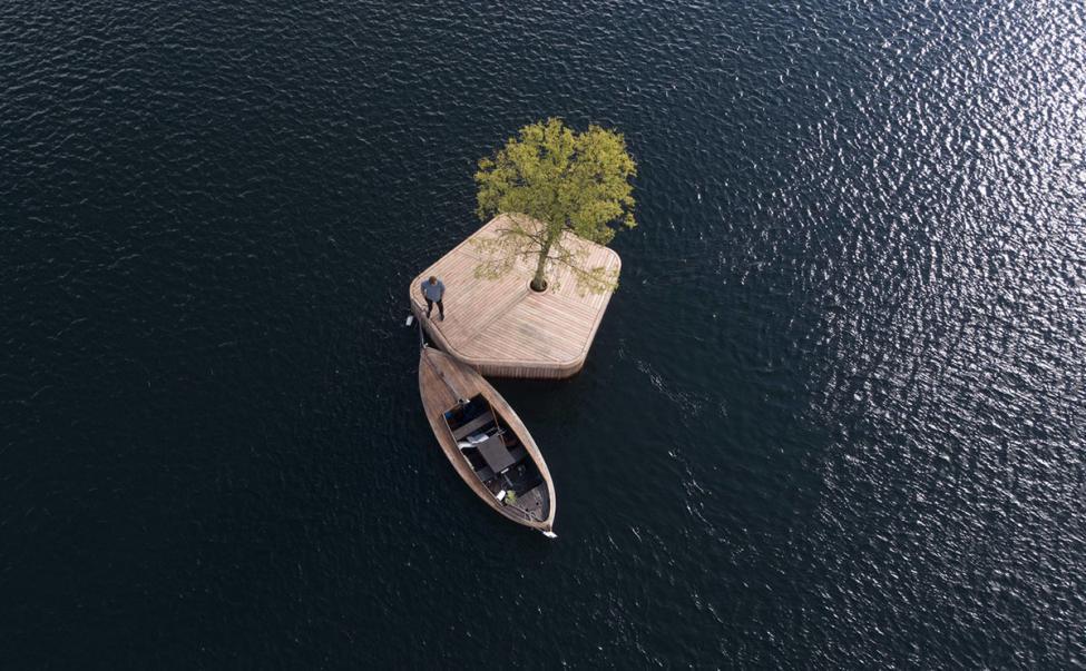 copenhagen islands flydende platform