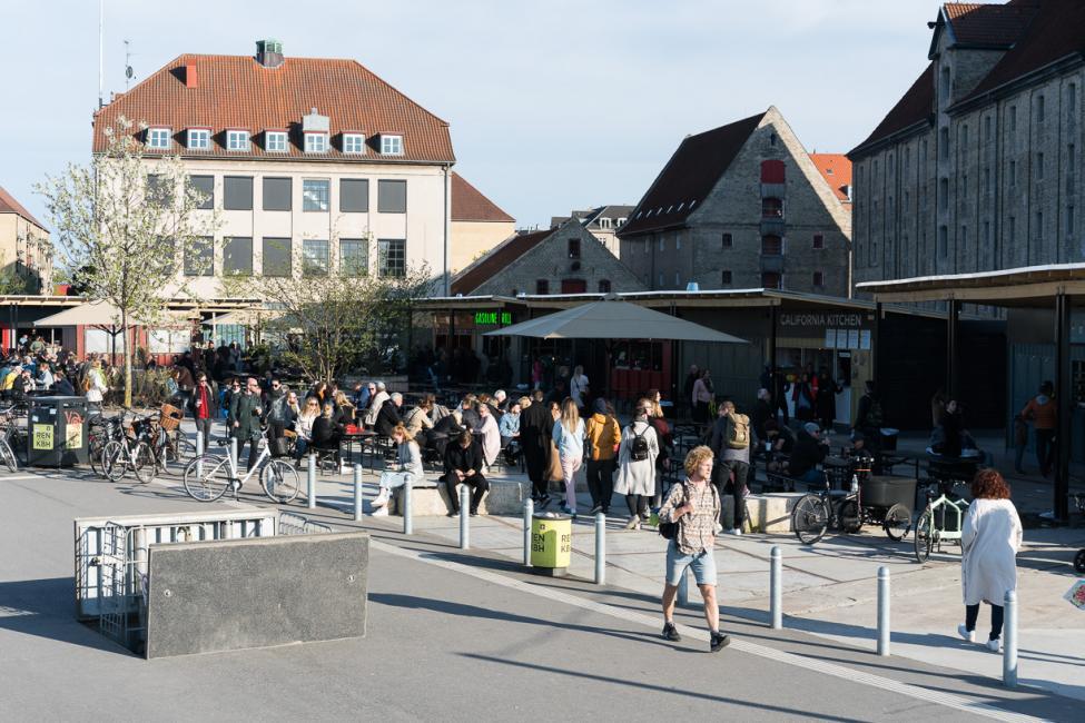 street food grønlanske handels plads