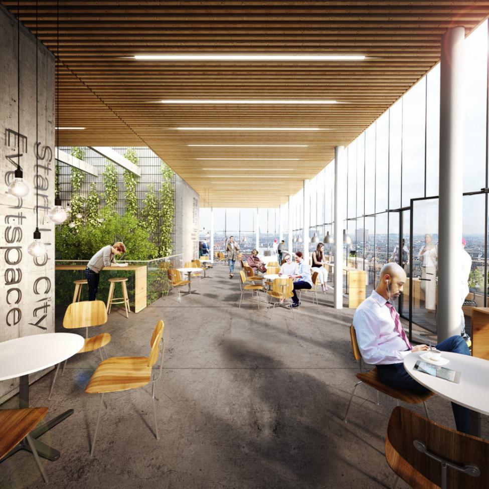 start-up city udsigt