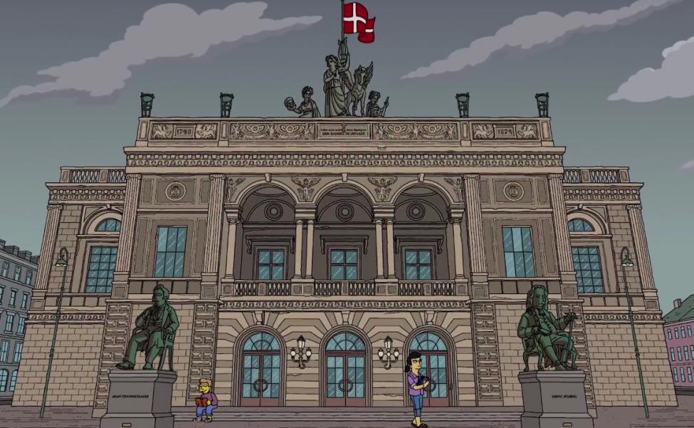 simpsons det kongelige teater
