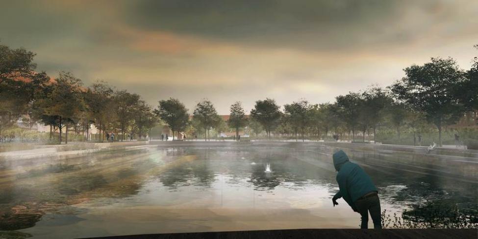 enghaveparken boldbane skybrud