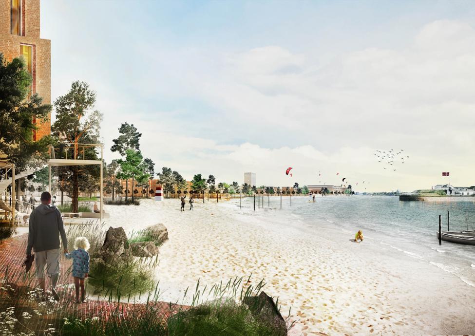 lynetteholmen strand