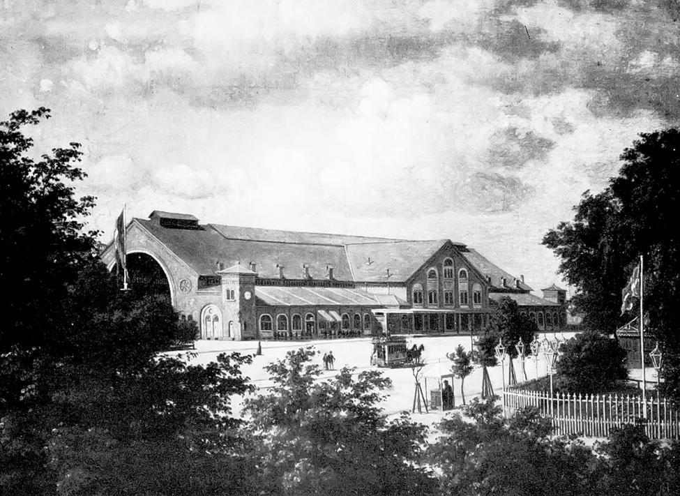 Københavns anden centralbanegård 1870