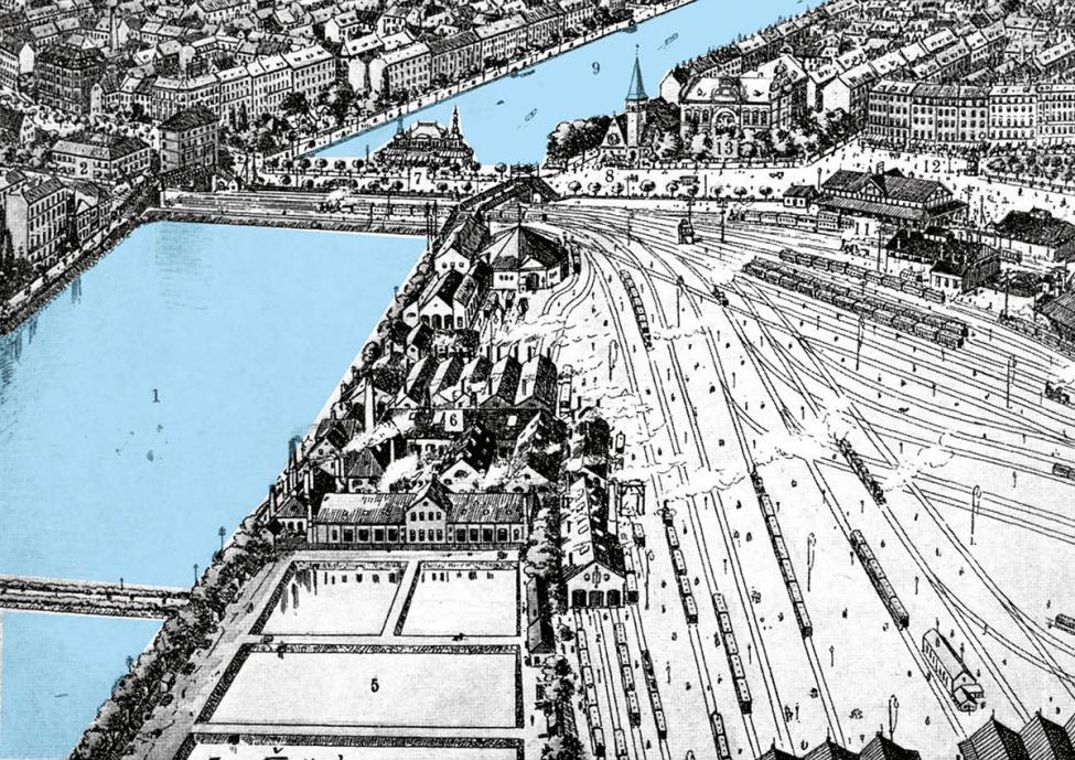Baneterrænet København 1897