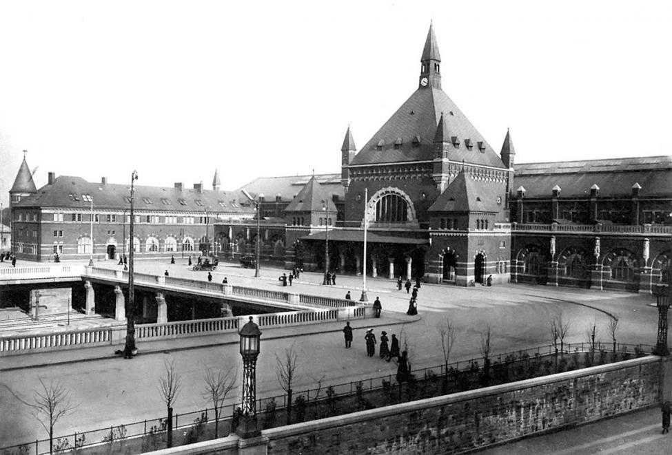 Københavns Hovedbanegård 1911
