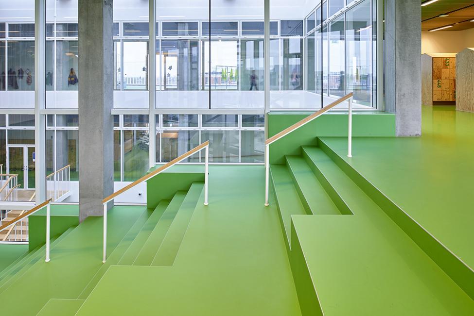 skolen i sydhavnen trappe