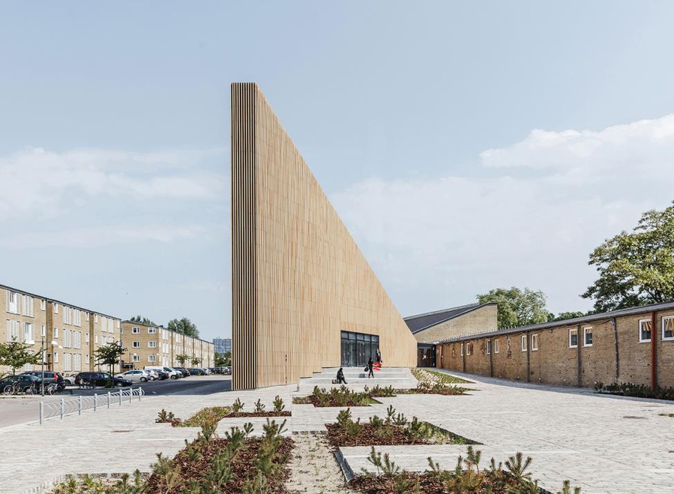 tingbjerg bibliotek forplads