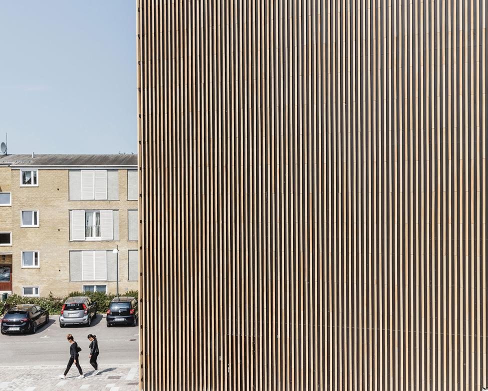 tingbjerg kulturhus facade