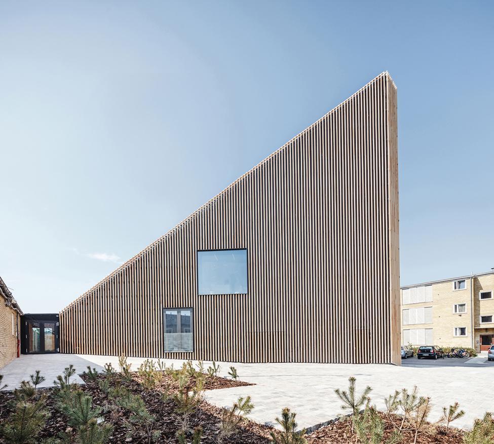 tingbjerg kulturhus brolægning